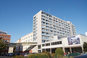 Das Verlagsgebäude der FAZ