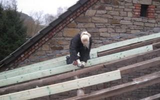 Ausbildung zur Dachdeckerin