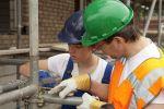 Egal ob Arbeits- oder Schutzgerüste: Gerüstbauer sind hier die Fachleute