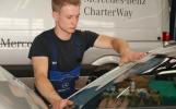 Die Ausbildung ist in drei Fachbereiche unterteilt: Fahrzeugbautechnik, Karosseriebautechnik und Karosserieinstandhaltungstechnik