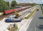 Gleisbauarbeiten: das Schienennetz wird ständig erweitert (Bildquelle: Deutsche Bahn)