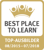 """Auszeichnung """"Best Place To Learn"""" 2015"""
