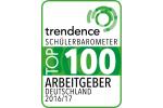 Top100 Gütesiegel 2016 von Schülerbarometer