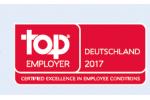 Auszeichnung als TOP Arbeitgerber 2017